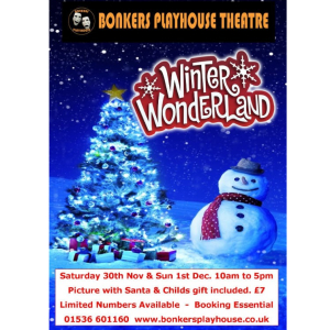 BONKERS PLAYHOUSE PRESENTS WINTER WONDERLAND.
