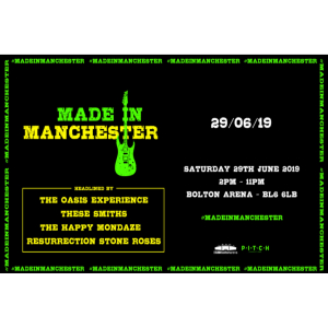 Made in Manchester is coming to town!