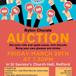 Ryton Chorale Auction