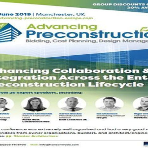 Advancing Preconstruction Europe 2019