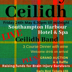 Charity Ceilidh Supporting Brain Injury