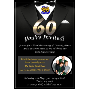 The Moat Players 60th Anniversary Party