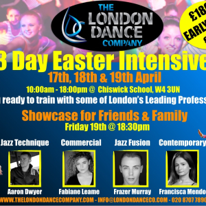 EASTER INTENSIVE WITH THE LONDON DANCE COMPANY