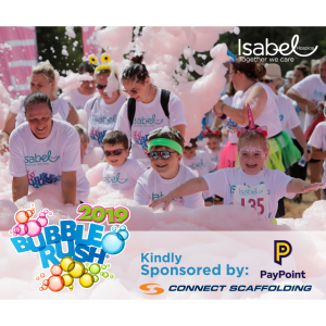 Isabel Hospice Bubble Rush 2019