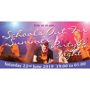 Schools Out For Summer Party Night