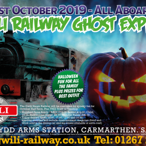 Gwili Railway The Ghost Express
