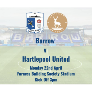 Barrow AFC vs Hartlepool United