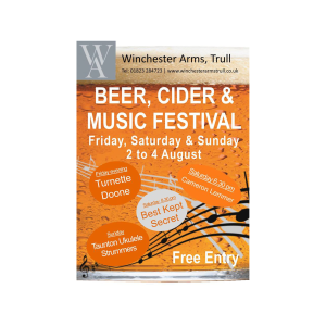 Beer, Cider and Music Festival