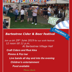 Bartestree Village Cider & Beer Festival