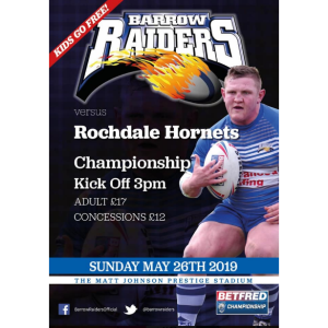 Barrow Raiders vs Rochdale Hornets