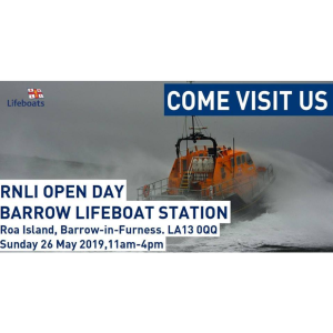 Barrow RNLI Lifeboat Open Day 2019