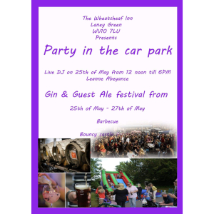 Party In The Park @ The Wheatsheaf Inn, Walsall!