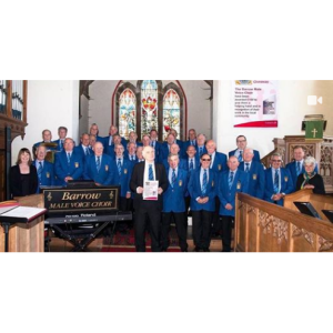 Barrow Male Voice Choir at Barrow Market Hall