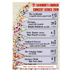 ST SAVIOUR'S CHURCH CONCERT SERIES