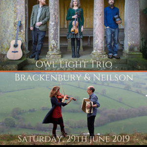 HERMON FOLK DOUBLE BILL: Owl Light Trio / Brackenbury & Neilson