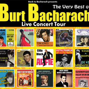 The Very Best of Burt Bacharach -The Royal Hippodrome Theatre 17th August