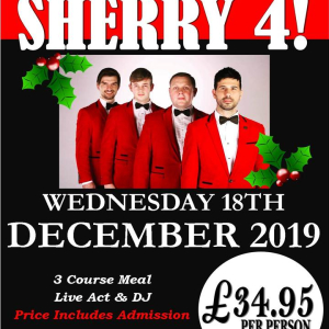 Sherry 4 Tribute Night at Calderfields