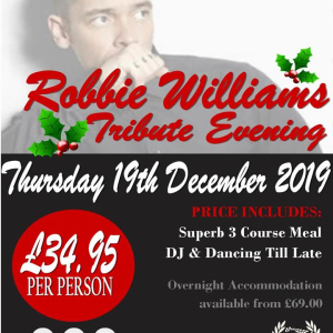 Robbie Williams Tribute at Calderfields Golf and Country Club