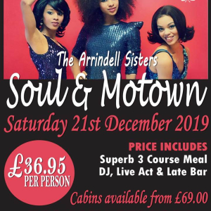 Soul and Motown Tribute at Calderfields Golf and Country Club