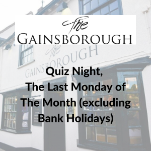 Quiz Night at The Gainsborough