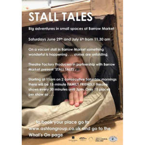 Stall Tales at Barrow Market Hall