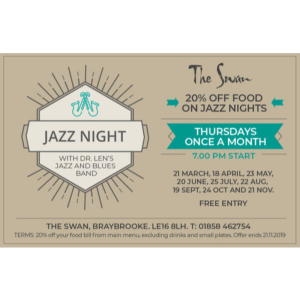 Jazz Night at The Swan, Braybrooke