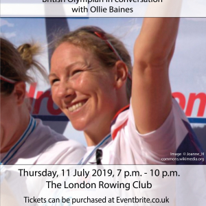 Charity event in support of prisoners learning to read, featuring Olympic rower Debbie Flood