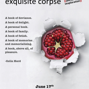 """this exquisite corpse"" book tour and Poetic Sexploration"