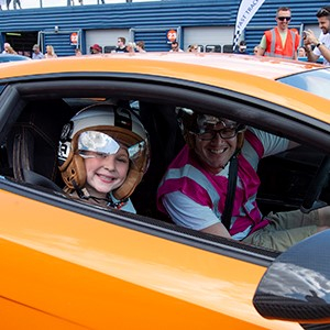 The Children's Trust Supercar Event