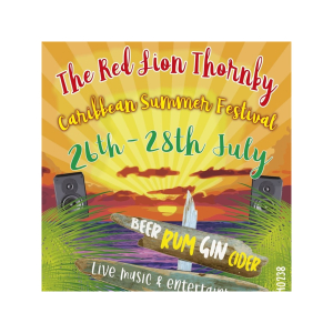 Summer Beer, Cider, Gin and Rum Festival at The Red Lion, Thornby