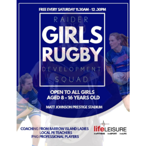 Barrow Girls Rugby Development Squad