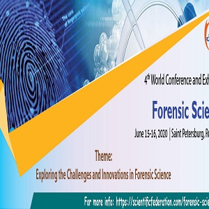 4th World Conference and Exhibition on Forensic Science