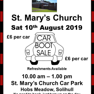 St. Mary's Market & Car Boot Sale