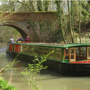 Canal Cruises every Wednesday and Sunday on the Basingstoke Canal from Odiham