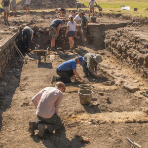 Talk - Excavating the public baths of the Roman City at Silchester, Hampshire