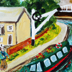 Workshop - Painting Historic Newbury…. In the Style of Claude Monet - The Stone Building