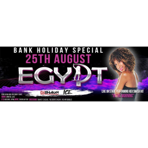 Live Music from 'Egypt' this Bank Holiday at MJ's Bar and Venue