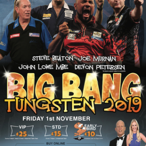 Big Bang Tungsten 2019