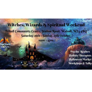 Witches, Wizards & Spiritual Weekend at Angel Earth Events
