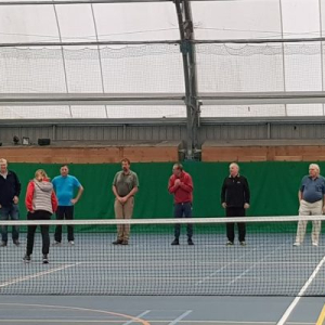 Tennis For the Visually Impaired