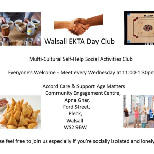 EKTA Day Club Social Group