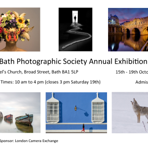 Bath Photographic Society Exhibition's Annual Exhibition 2019