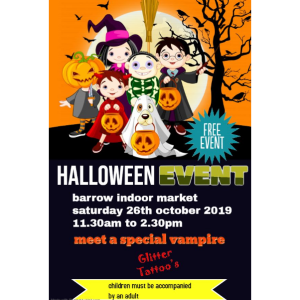 Halloween Event at Barrow Market Hall