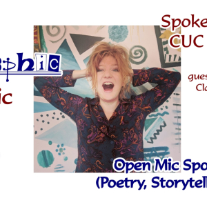 Allographic Open Mic featuring Claire Trévien