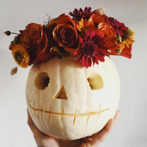 PUMPKIN ARRANGEMENT WORKSHOPS AT IRIS & DORA
