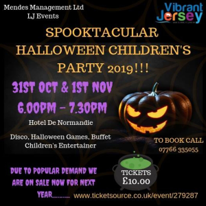 SPOOKTACULAR HALLOWEEN CHILDREN'S PARTY 2019!