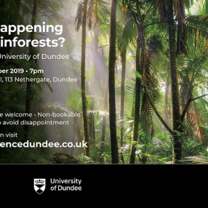 Café Science Dundee: What's Happening to our Rainforests?
