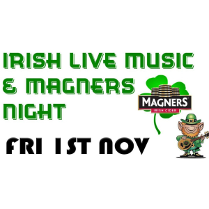 Irish Music & Magners Night at The Stag Maidwell