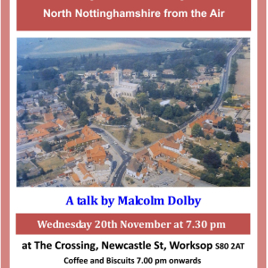 Eye in the Sky: North Notts from the Air a talk by Malcolm Dolby - North Notts Assoc of NT Members