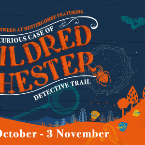 Hestercombe Halloween Trail